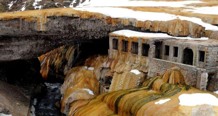 Invierno en Puente del Inca