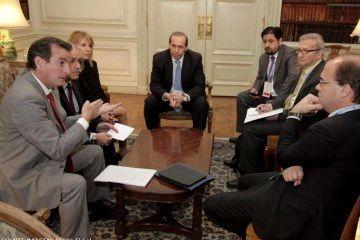 Reunión por los pasos fronterizos con Chile