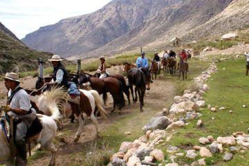 Cabalgata en el Valle de Uco