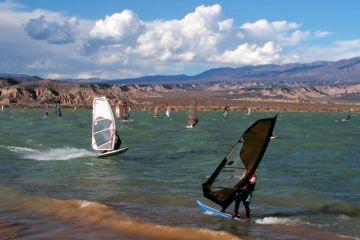 4 Windsurf en Cuesta del Viento