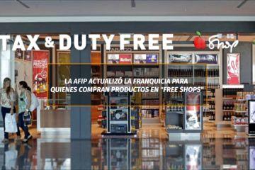 Actualización de franquicia para compras en duty free