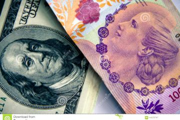 dólar - peso argentino