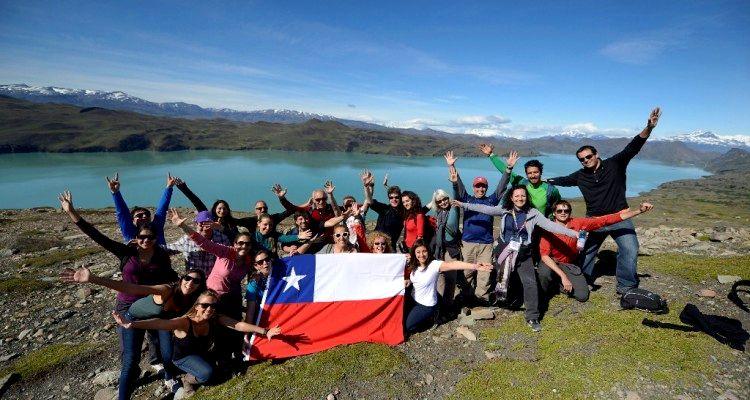Turistas europeos a Chile