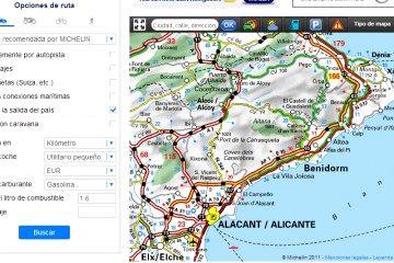 Internet el mapa para planificar viajes