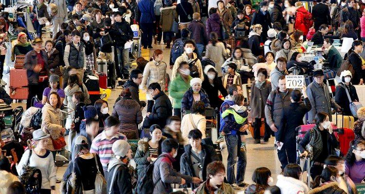 Pasajeros de Aeropuertos