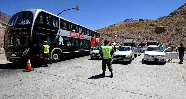 Demoras en el paso a Chile