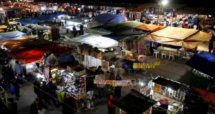 Venta ilegal productos piratas en Mendoza