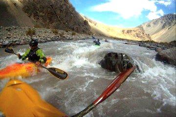 Kayak en Mendoza
