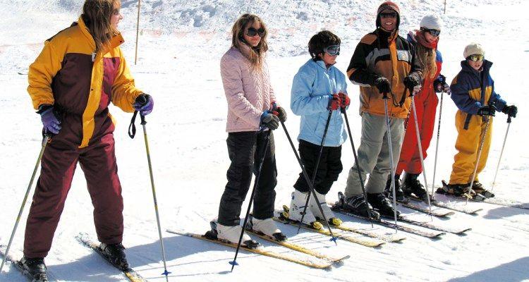 Escuela esquiadores
