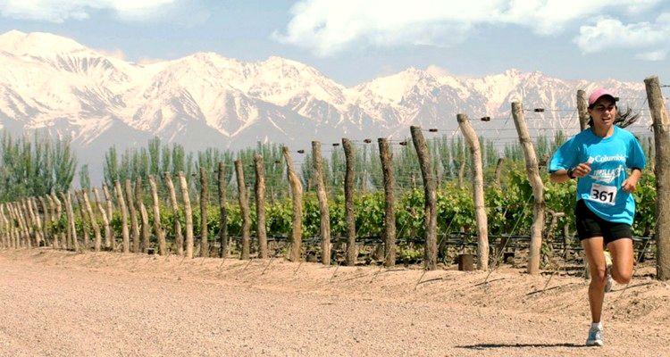 Maratón por los caminos del Vino