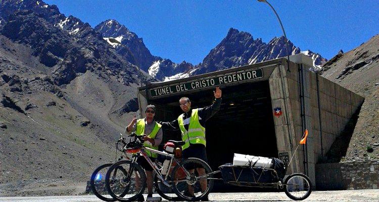 Los Andes en bici