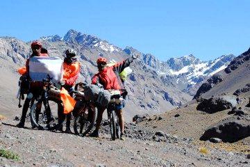 Cruce Los Andes en bicicleta