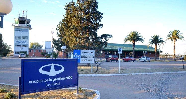 Aeropuerto de San Rafael - Mendoza
