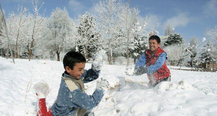 Nieve en Uspallata