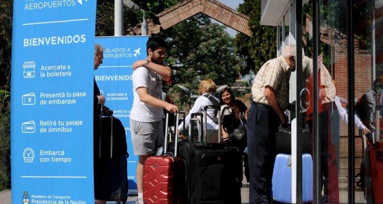 Traslado de pasajeros del aeropuerto