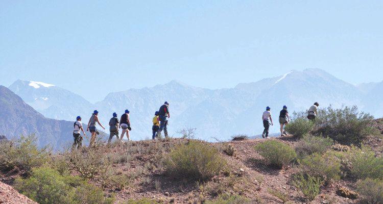 Trekking una aventura en Mendoza