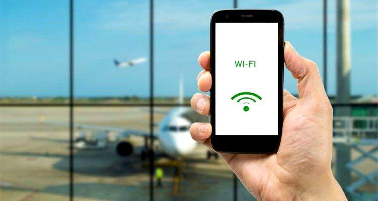 Wifi libre en aeropuertos