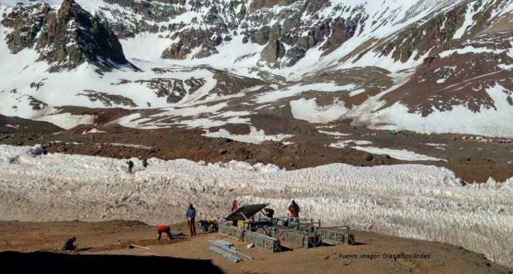 Antena 4G en el Aconcagua