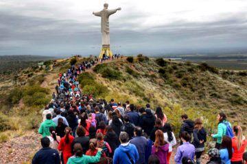 2 Cristo Rey del Valle Tupungato - turismo religioso