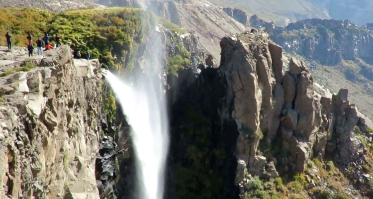 4 Cascada Invertida Paso Pehuenche