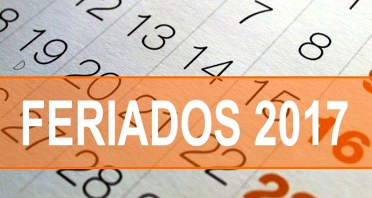 Feriados 2017