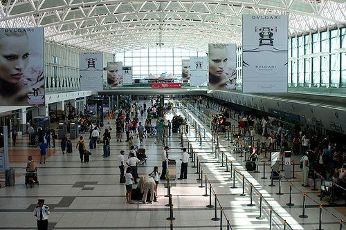 Aeropuerto de Ezeiza - brecha entre emisivo y receptivo
