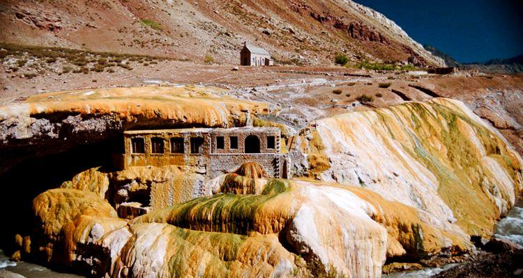 5 Puente del Inca - Lugares mendocinos preferidos por los turistas