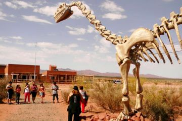 2 Ruta de dinosaurios en Cuyo