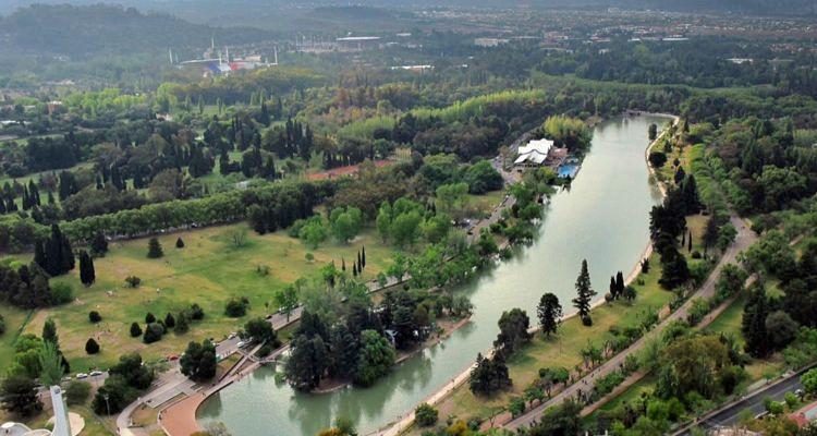 3 Lago del Parque - Turismo desde el aire