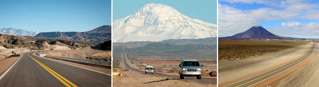 Ruta 40 en Mendoza