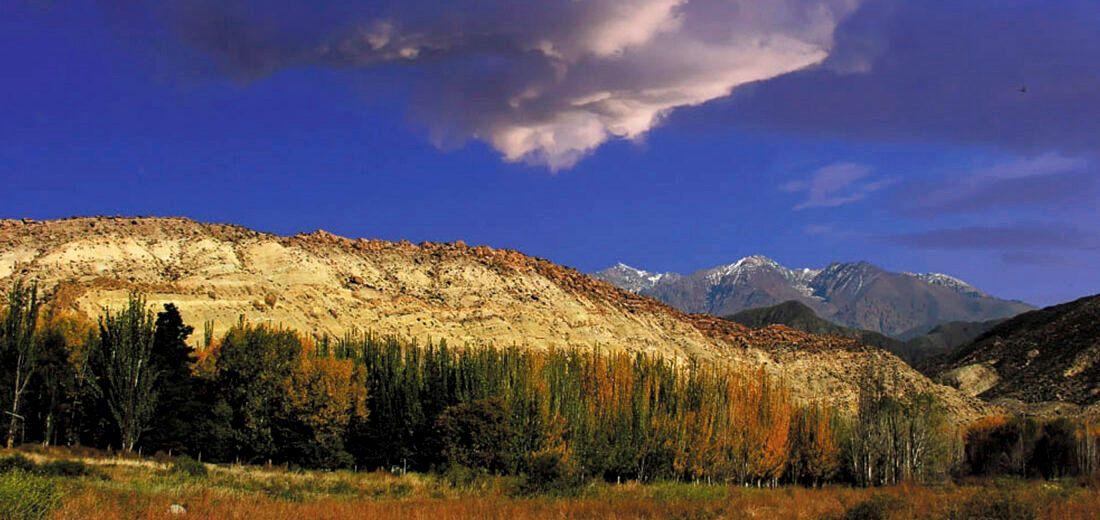 Uspallata y su Cerro 7 colores