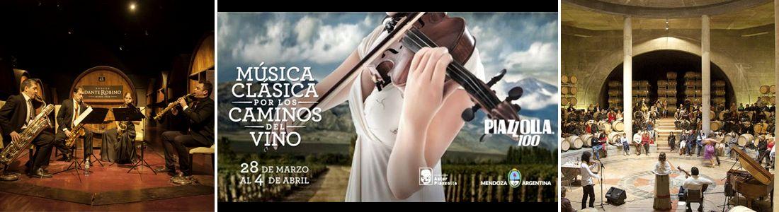 Homenaje a Piazzolla - Música Clásica en los Caminos del Vino