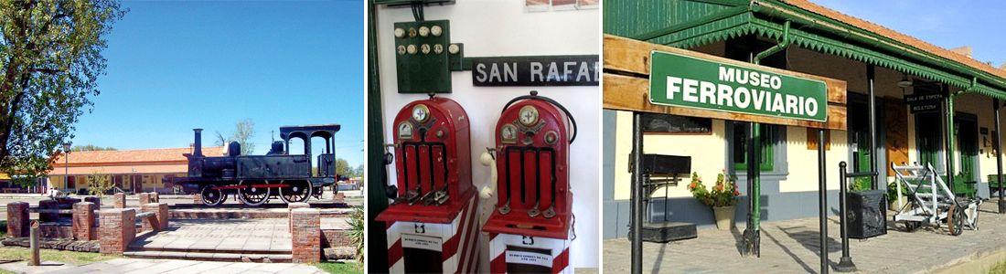 El tren del tiempo en San Rafael