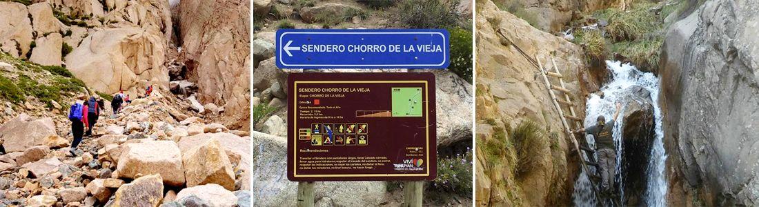 Trekking al Chorro de la Vieja