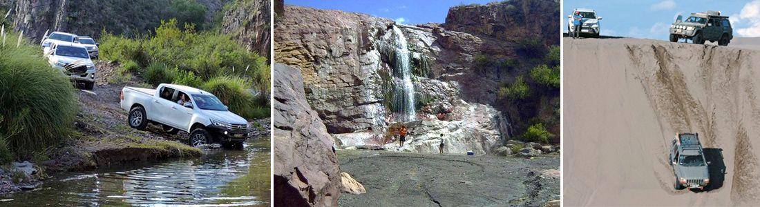Mendoza en 4x4 al Salto del Colorado