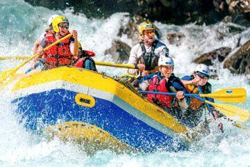 Rafting, imperdible de Mendoza